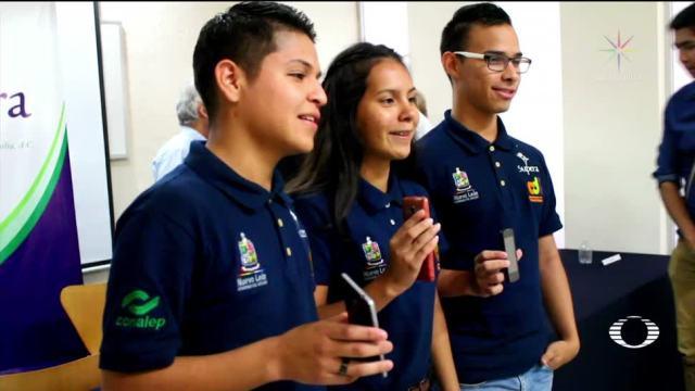 Alumnos de Conalep 3er lugar en Mundial de Tecnología