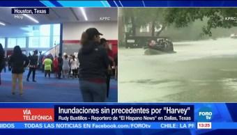 Dallas Brinda Refugio Damnificados Harvey