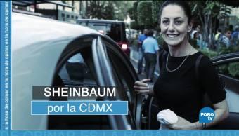 Claudia Sheinbaum candidata Morena a CDMX
