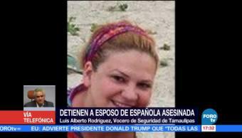 Esposo Española Acusado Homicidio Vocería Tamaulipas