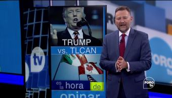 amenazas Donald Trump EU salga TLCAN