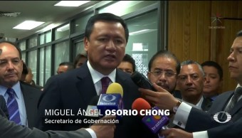 Osorio Chong rechaza gobierno publicaciones Anaya