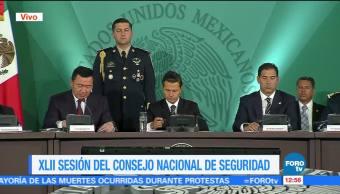 Osorio Chong Federalismo Sesión Consejo