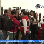 Voluntarios Cruz Roja Mexicana viajan Texas