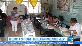 Moody's advierte México impacto económico elección