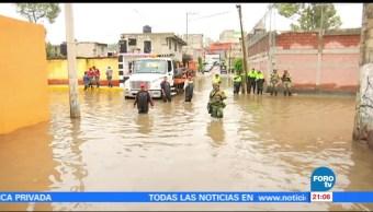 Inundaciones en Cuautitlán Izcalli
