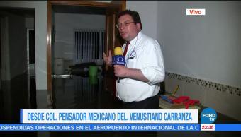 Colapsa el drenaje en la colonia Pensador Mexicano