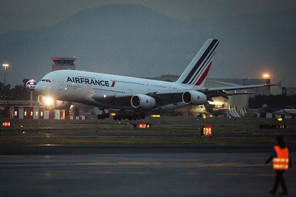 Misil norcoreano cayó cerca de ruta de avión de Air France