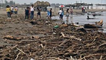 huracan franklin rompe records lluvias mexico