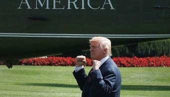 Trump alardea ser mejor presidente que Barack Obama