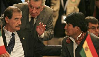 Evo Morales responsabiliza a Fox si le pasa algo a Nicolás Maduro