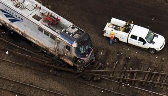 Choque de trenes deja 42 heridos en Filadelfia