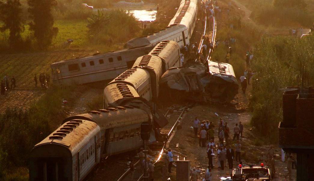 cifra muertos accidente tren egipto sube 49