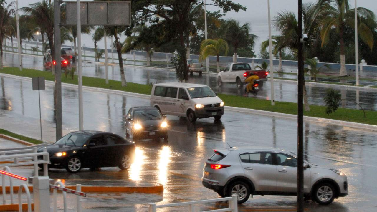 'Franklin' tormentas vientos Veracruz Campeche Tabasco