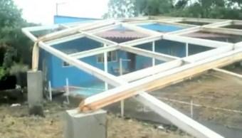 Afectados, 49 municipios de Veracruz por el huracán 'Franklin'