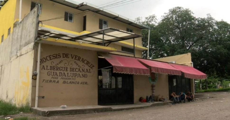 Albergues de Veracruz amparan a migrantes centroamericanos en su camino a EU