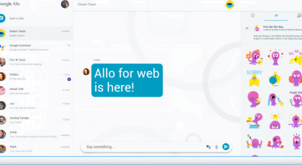 Google Allo llegó a la Web, pero solo para usuarios Android