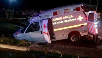 ambulancia socavon hermosillo sonora cinco lesionados