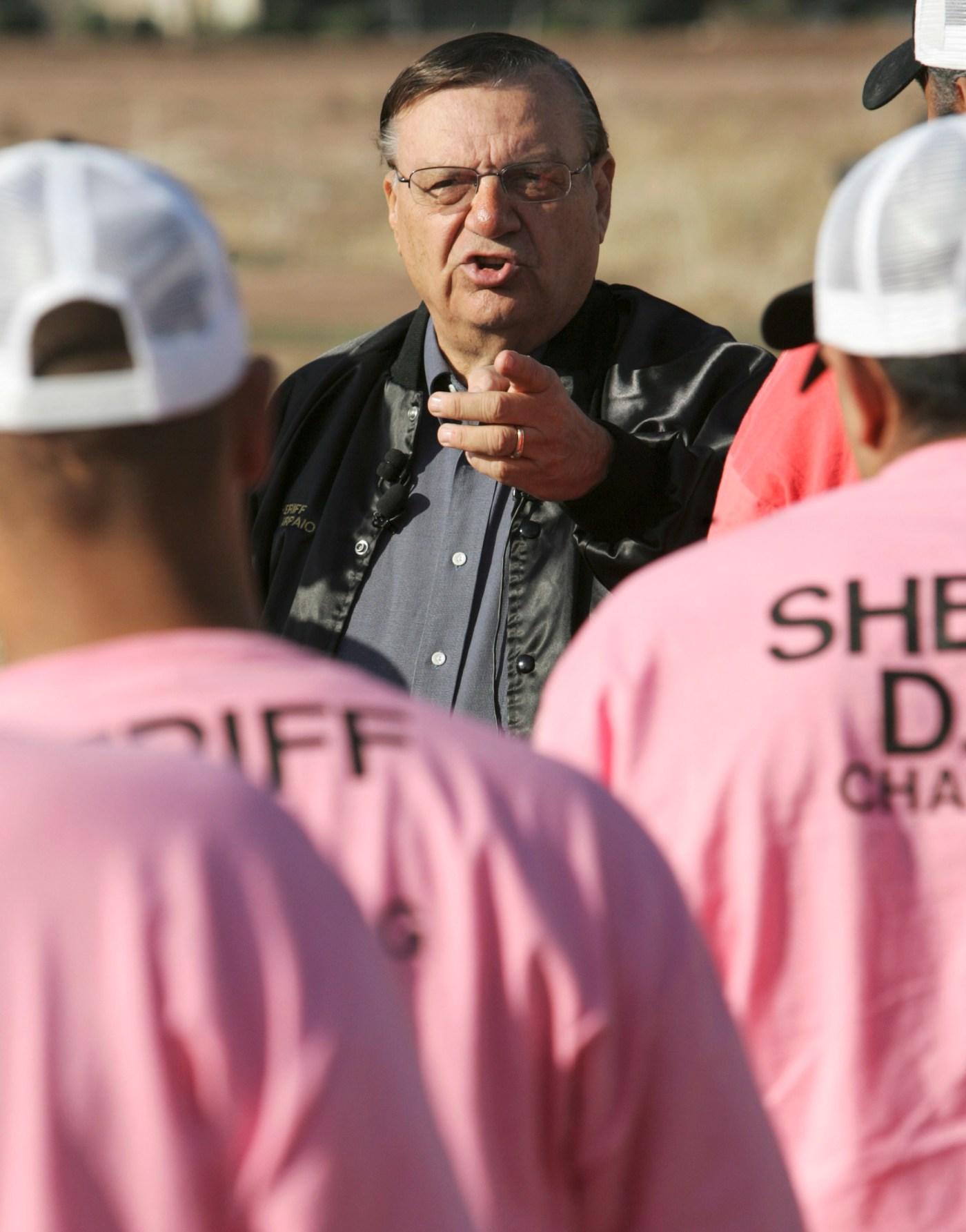 Sheriff Arpaio, Joe Arpaio, Arpaio, Estados Unidos