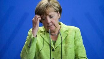 Merkel se opone a solución militar y escalada verbal entre EU y Norcorea