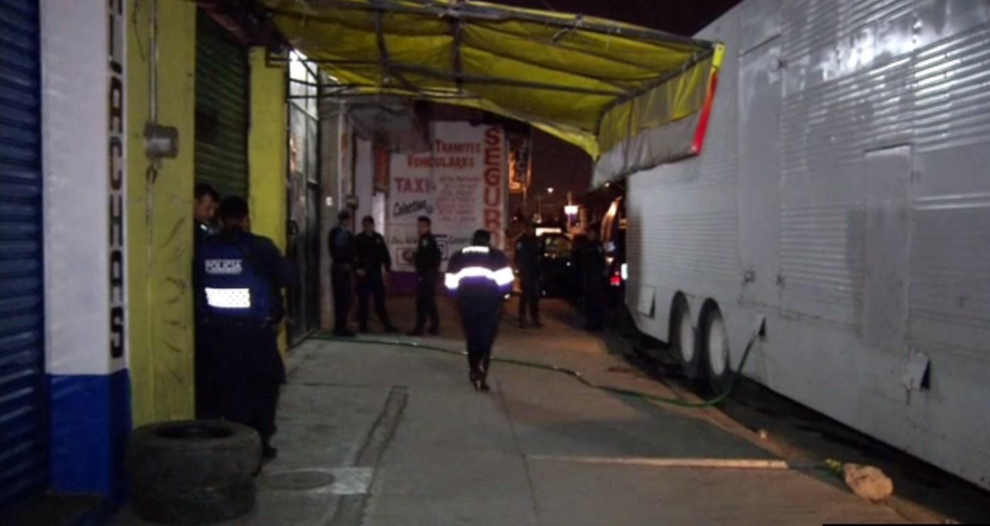 Policias de la CDMX aseguran combustible robado