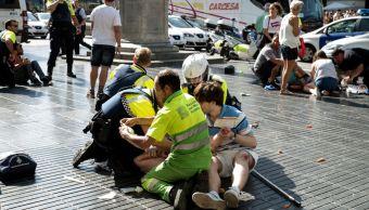 terrorismo golpea ramblas y cambrils barcelona espana
