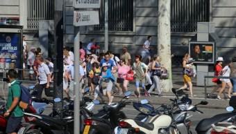 El Gobierno de México condena atropello masivo en Las Ramblas, Barcelona. (AP)