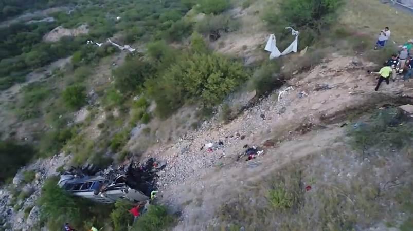 Mueren 9 personas por choque en tamaulipas