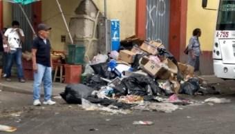 Se acumula la basura en Oaxaca por cierre de tiradero