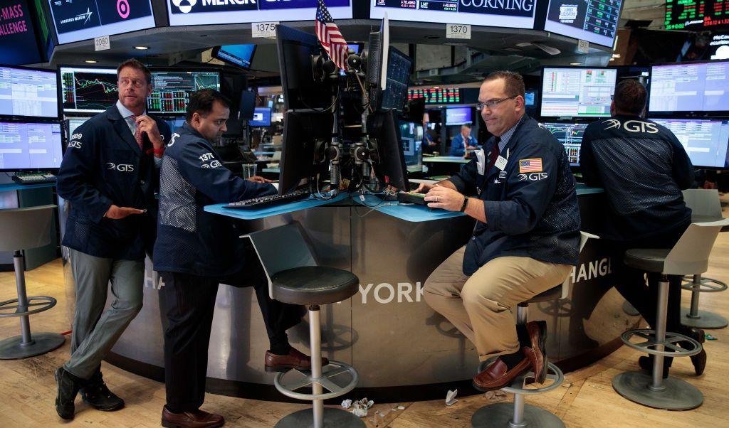 Wall Street numeros rojos tension Estados Unidos Norcorea