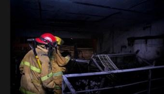 bomberos de ocotlan atienden incendio de imprenta