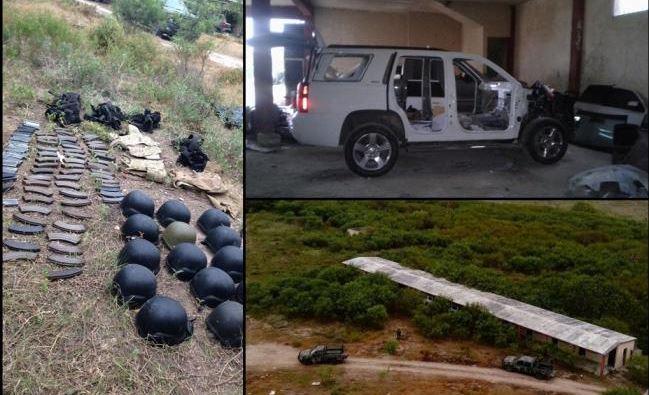 Sedena localiza campamento clandestino de adiestramiento en Matamoros, Tamaulipas