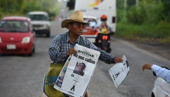 asesinato candido sin relacion con periodismo
