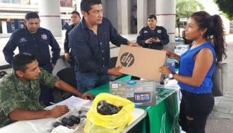 Implementan programa de canje de armas en Chiapas