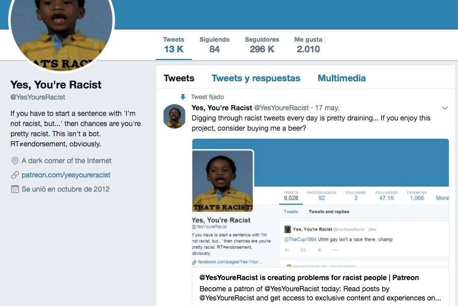 Cuenta para denunciar racistas, Marcha Neonazi, Racistas, Neonazis, Charlottesville, Cuenta