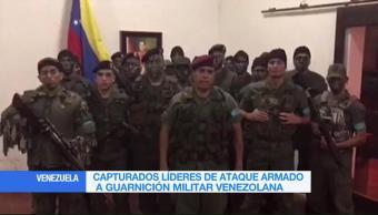 Capturan Lideres Ataque Armado Cuartel Militar Venezuela