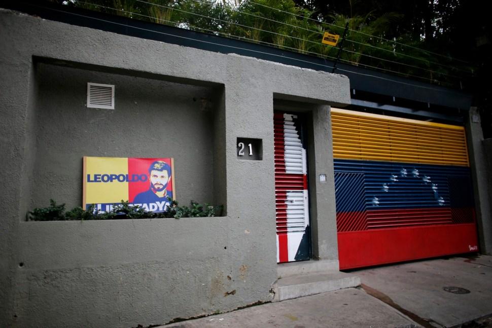 Casa del opositor venezolano Leopoldo López