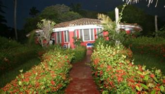 Casa Redonda Tarzá lugar ideal para turismo en Acapulco