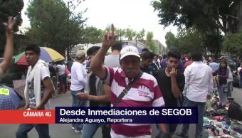 Concluye la 'Marcha por Morelos' en Segob