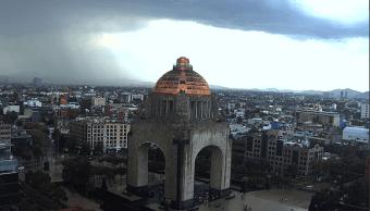 Granizo lluvia intensa CDMX Clima Granizada