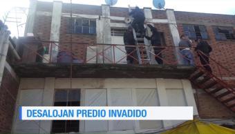 Desalojan Predio Invadido Colonia Morelos