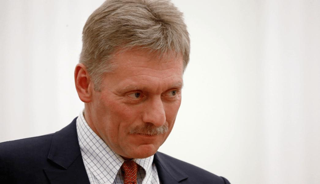 Dmitri Peskov, portavoz del Kremlin, durante conferencia