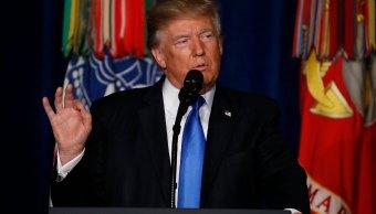 Trump anuncia su estrategia militar Afganistan y Pakistan