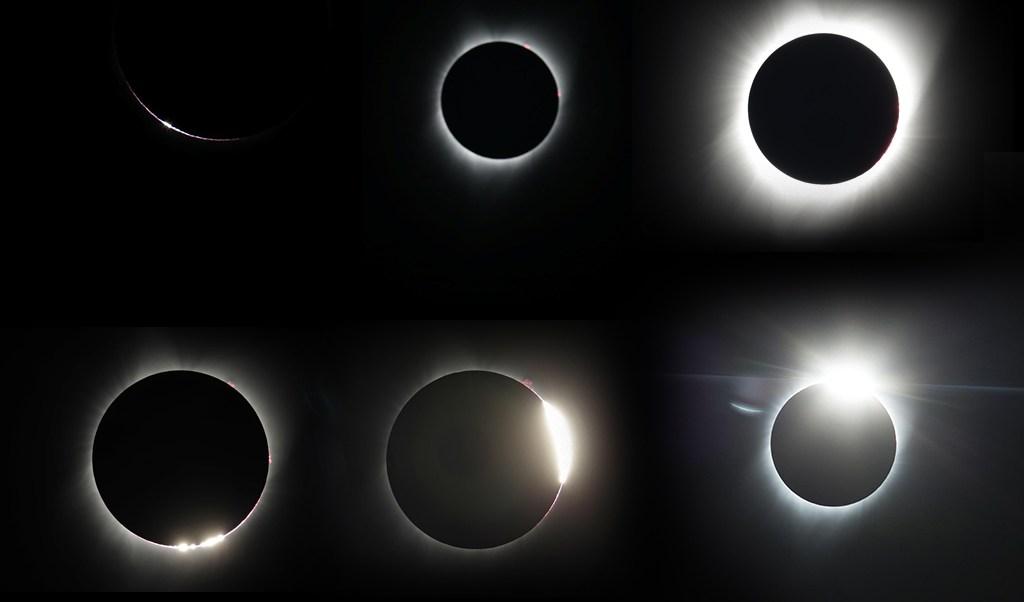 El eclipse total de Sol atravesó Estados Unidos de costa a costa