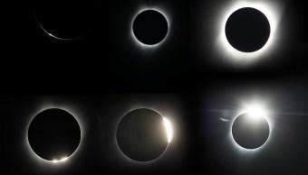 El eclipse total de Sol atraviesa Estados Unidos