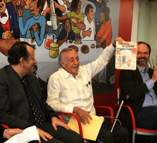Eduardo del Río, Rius, ganó el primer premio Gabriel Vargas