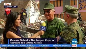 Ejército Marina Aplican Plan Dn-Iii Juchitán