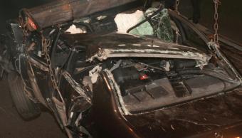 Auto accidentado donde murio Diana de Gales