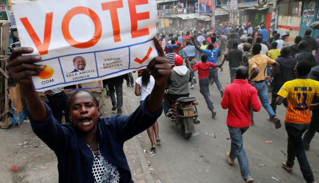Kenianos esperan resultados definitivos eleccion presidencial