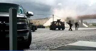 Revelan imágenes de enfrentamiento en Tamaulipas